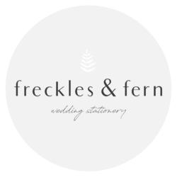 freckles & fern logo